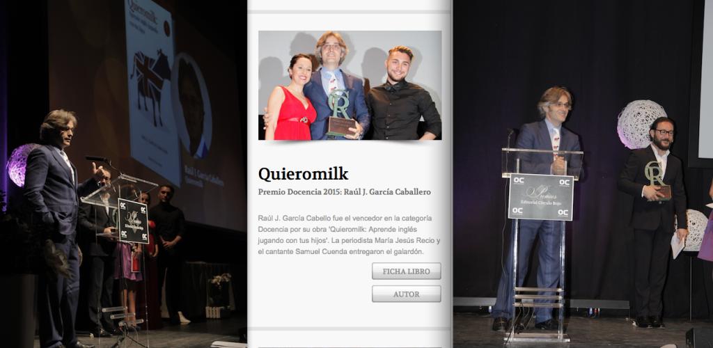 recogida premio docencia CR 2015